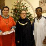 Drei Königinnen feierten mit uns den Gottesdienst